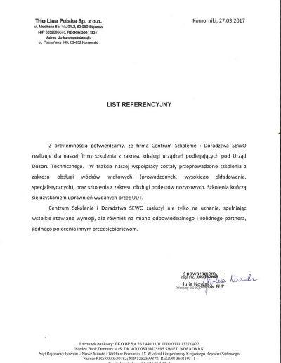 TRIO LINE POLSKA Sp. z o.o.